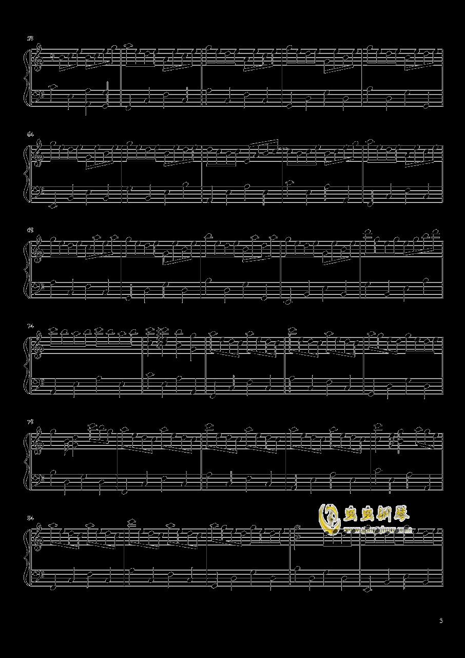 仍在凋零钢琴谱 第3页