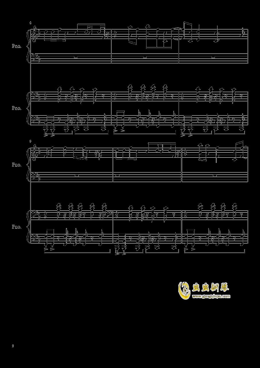 心跳文学部钢琴谱合集钢琴谱 第2页