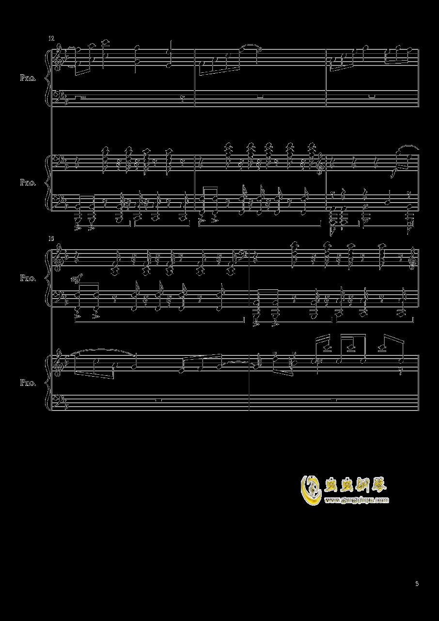 心跳文学部钢琴谱合集钢琴谱 第3页