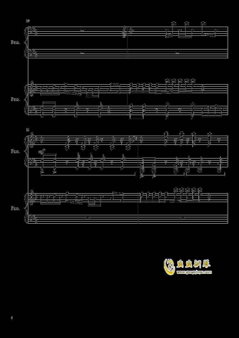 心跳文学部钢琴谱合集钢琴谱 第6页