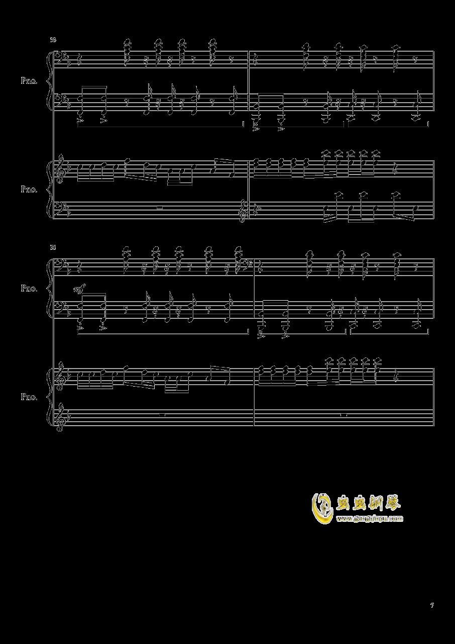 心跳文学部钢琴谱合集钢琴谱 第7页