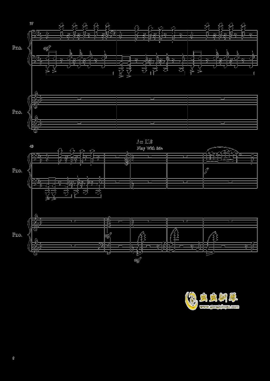 心跳文学部钢琴谱合集钢琴谱 第8页