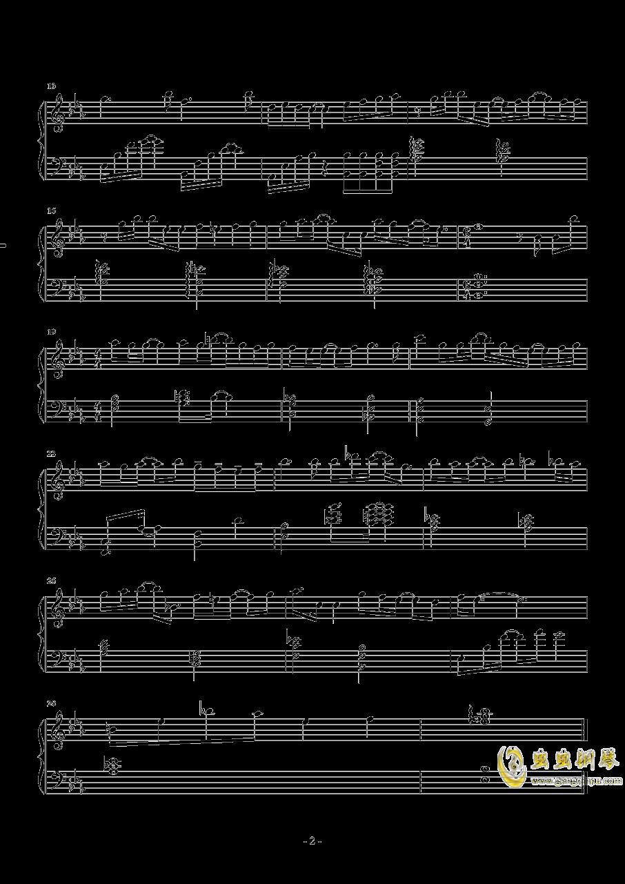 小美好钢琴谱 第2页
