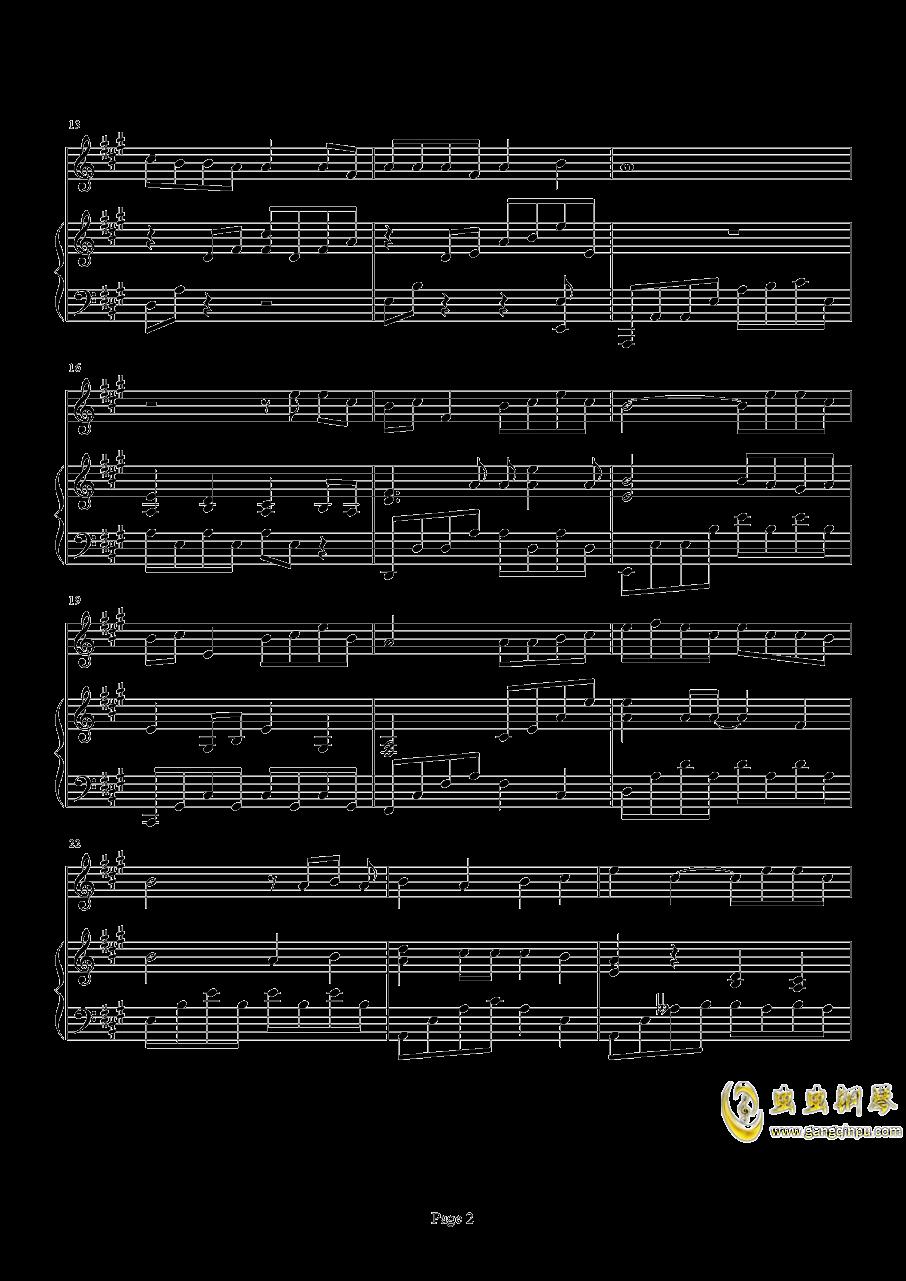 青花瓷钢琴谱 第2页