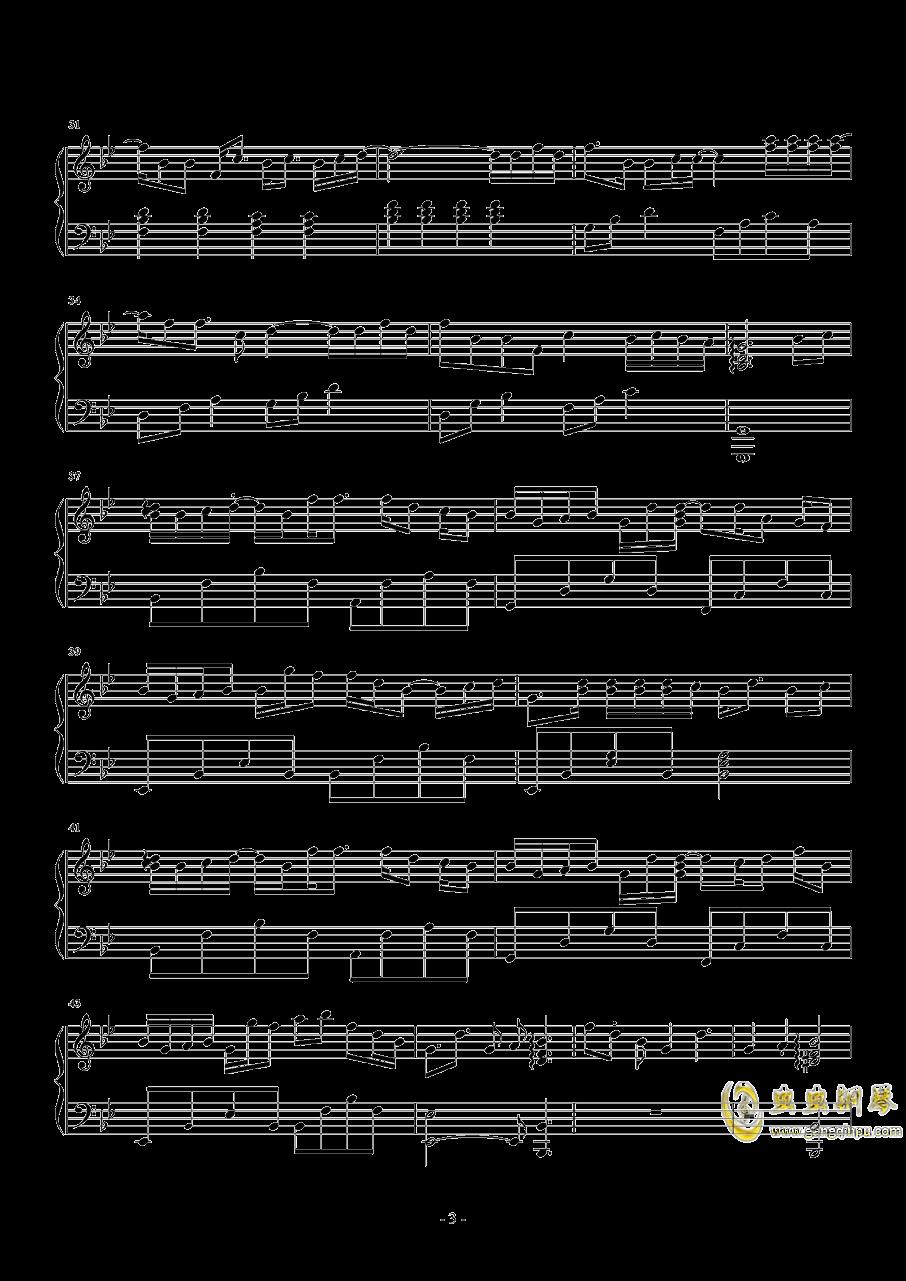 体面钢琴谱 第3页