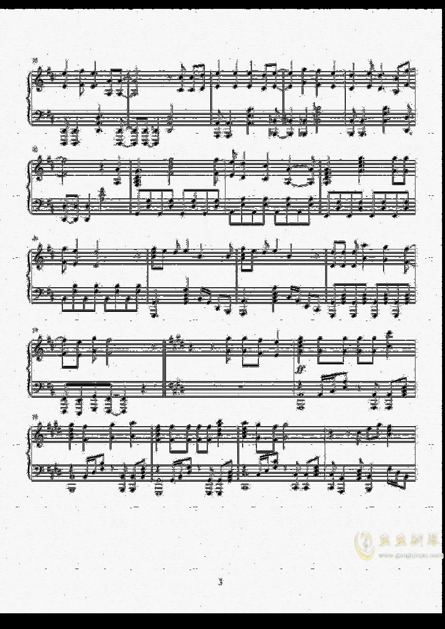 Amadeus钢琴谱 第4页