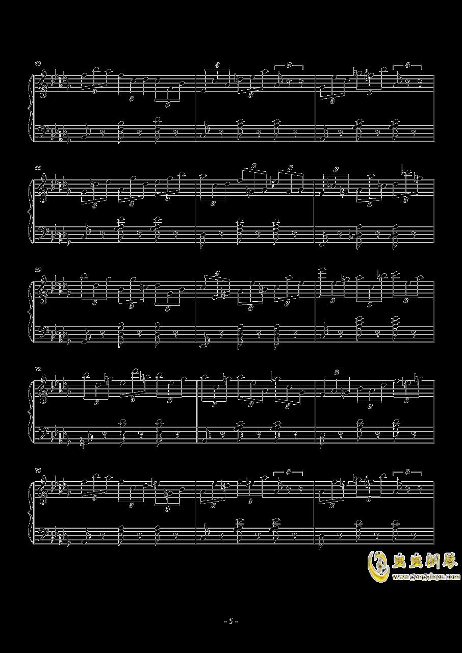 练习曲No.1 Op.6 降D大调练习曲澳门星际官网 第5页