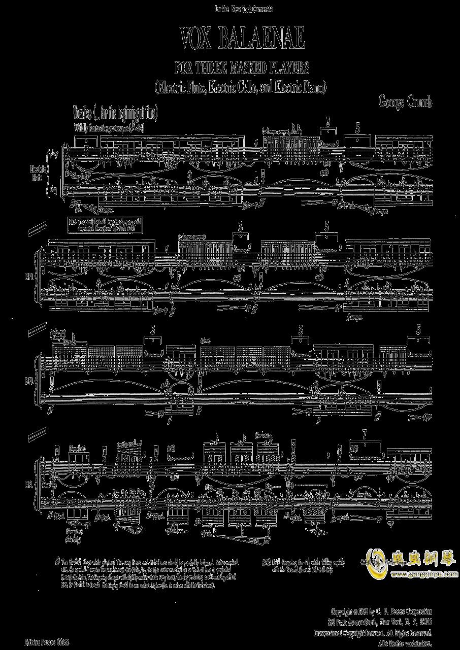 鲸之声钢琴谱 第5页