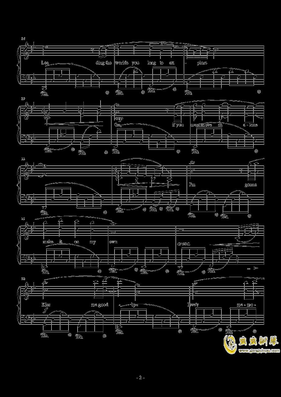 Kiss Me Good-Bye by Susan Calloway钢琴谱 第2页