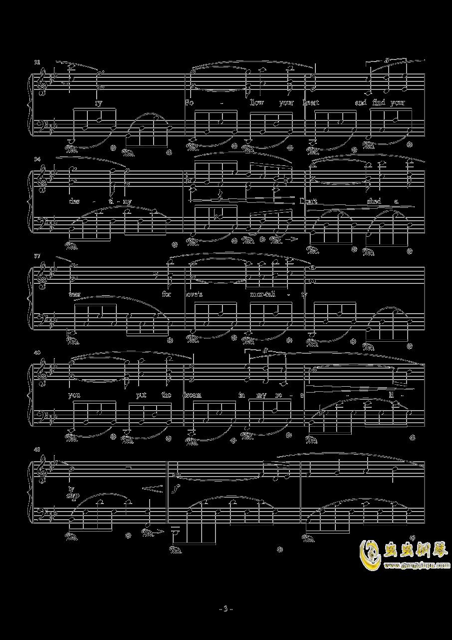 Kiss Me Good-Bye by Susan Calloway钢琴谱 第3页