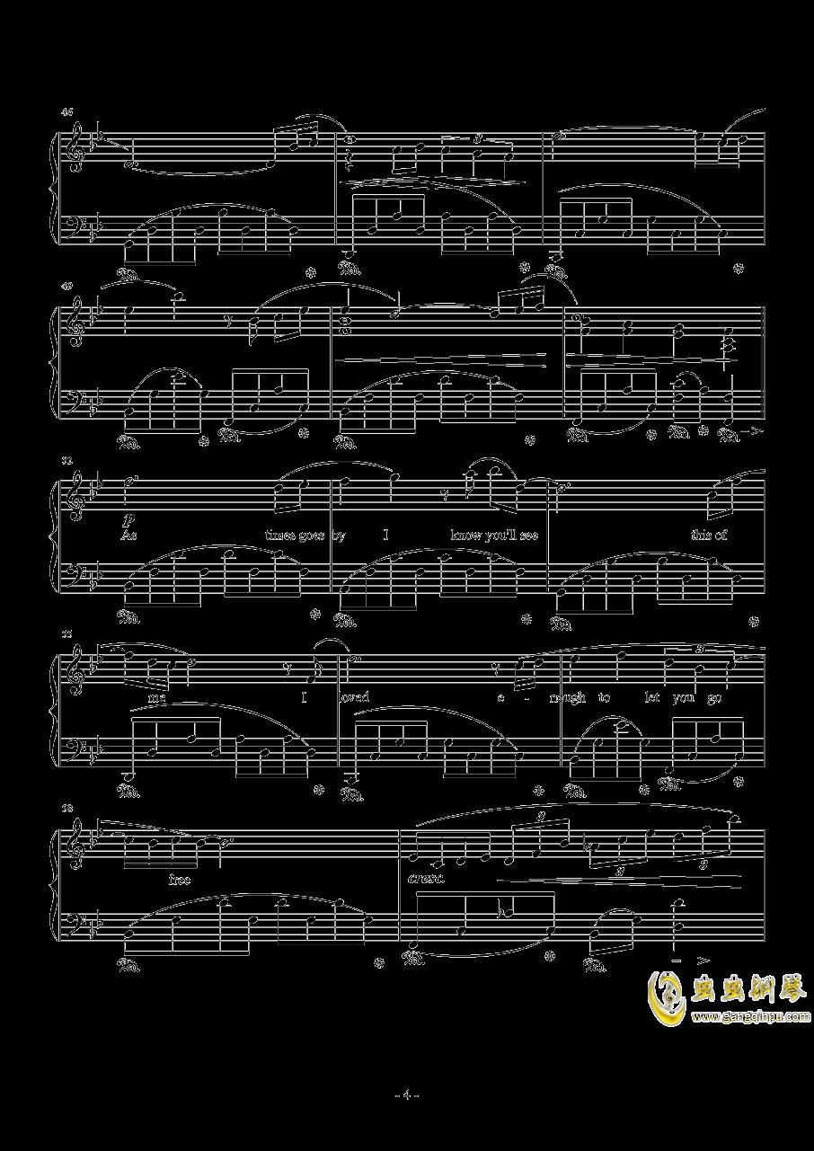 Kiss Me Good-Bye by Susan Calloway钢琴谱 第4页