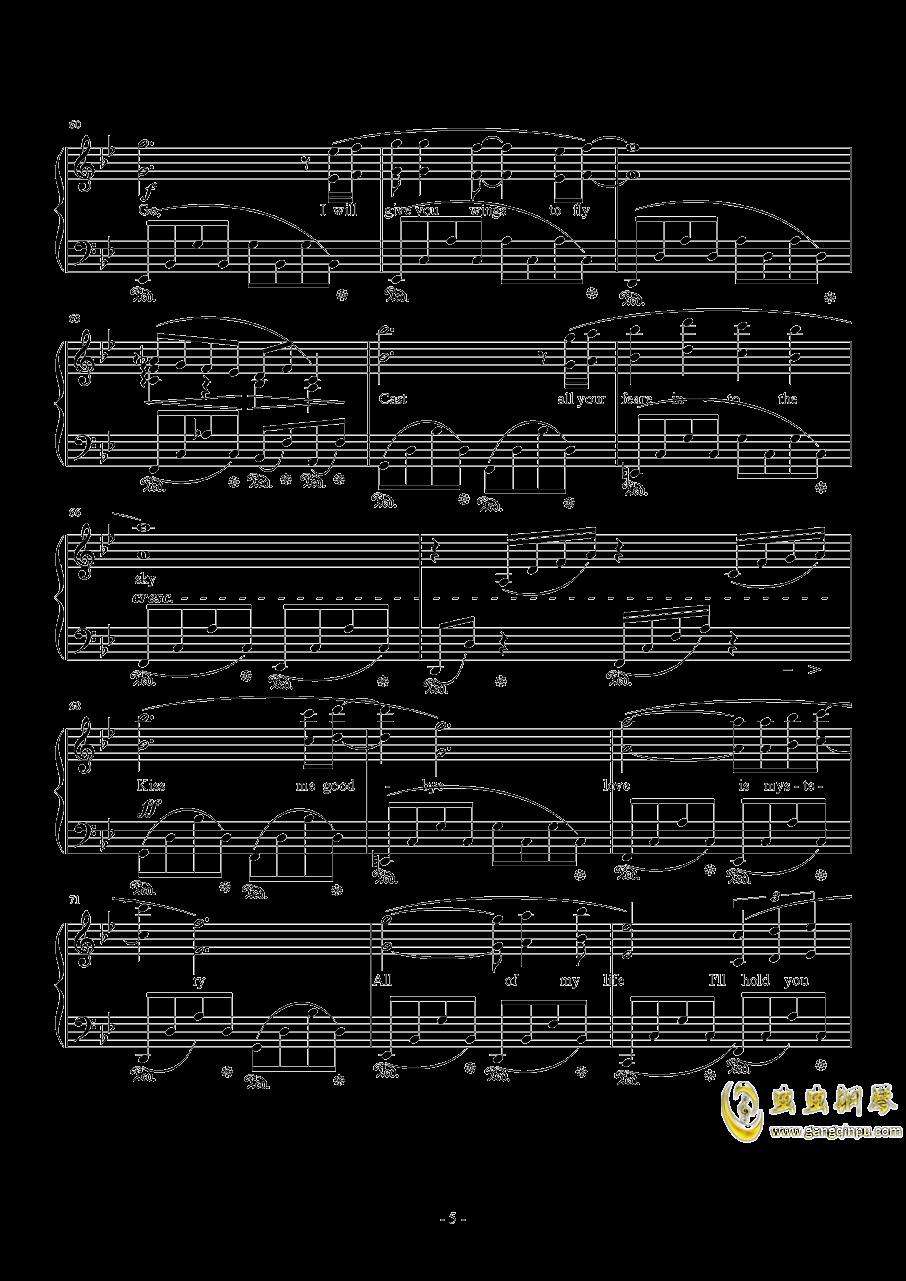 Kiss Me Good-Bye by Susan Calloway钢琴谱 第5页