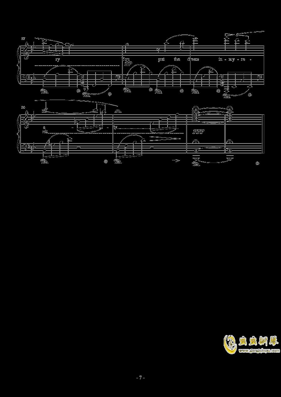 Kiss Me Good-Bye by Susan Calloway钢琴谱 第7页