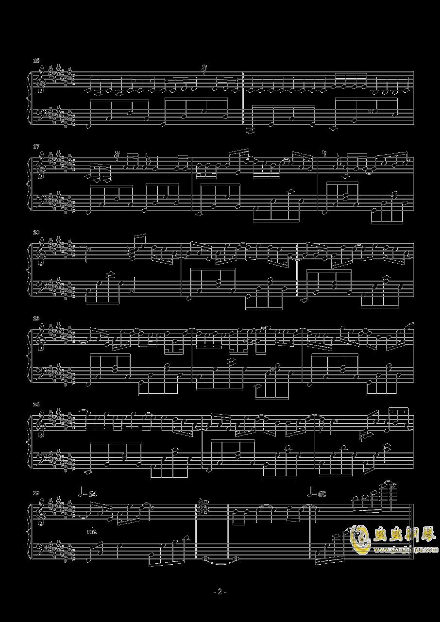 可不可以钢琴谱 第2页