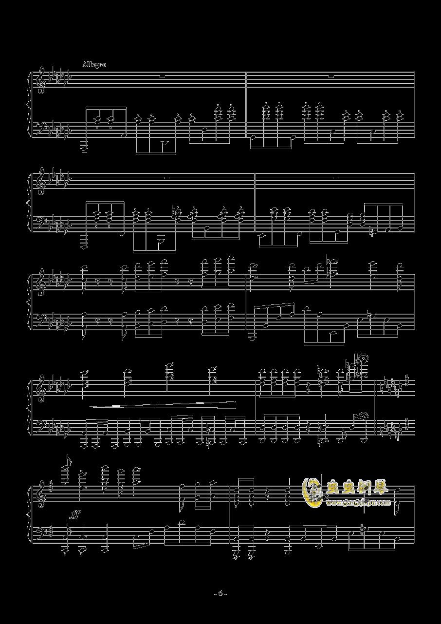 喜欢你钢琴谱 第6页