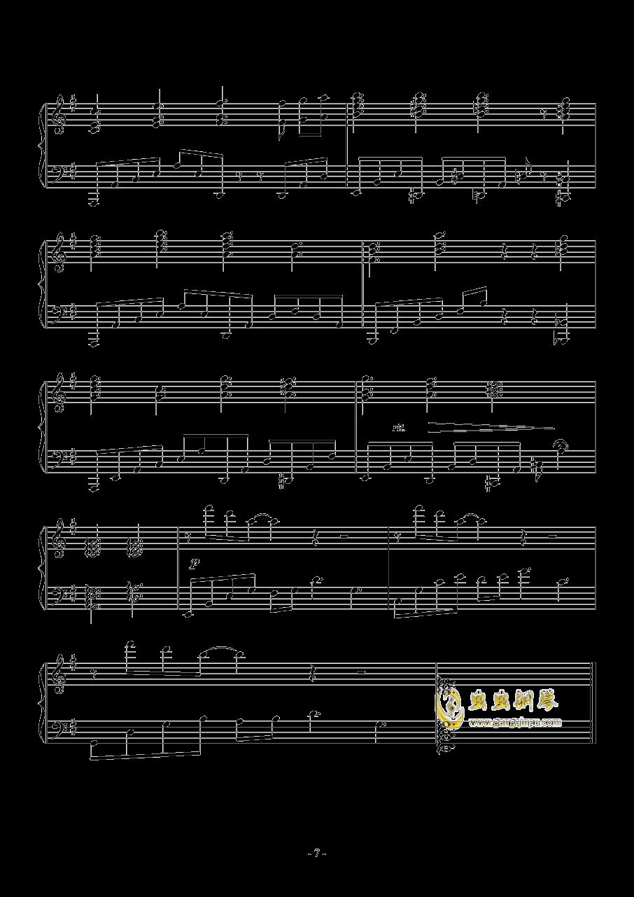 喜欢你钢琴谱 第7页