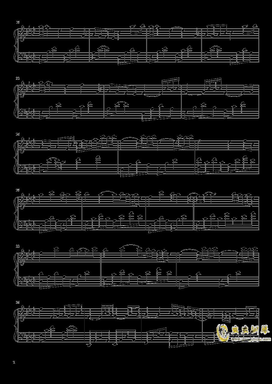 Tears钢琴谱 第2页