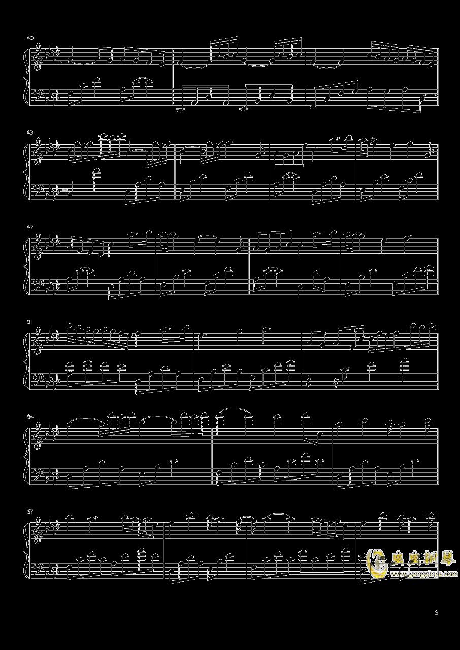 Tears钢琴谱 第3页