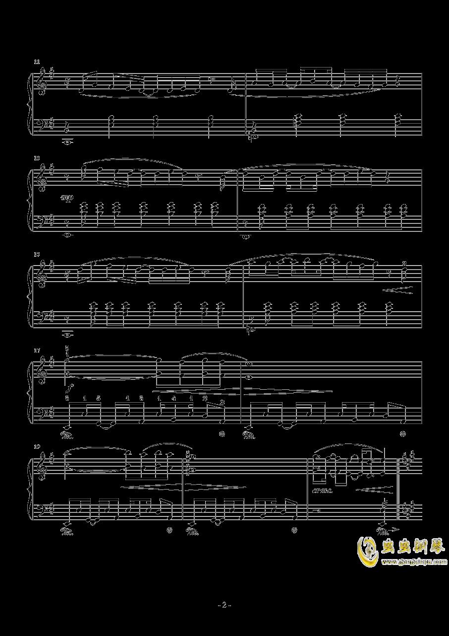 幽灵法则钢琴谱 第2页