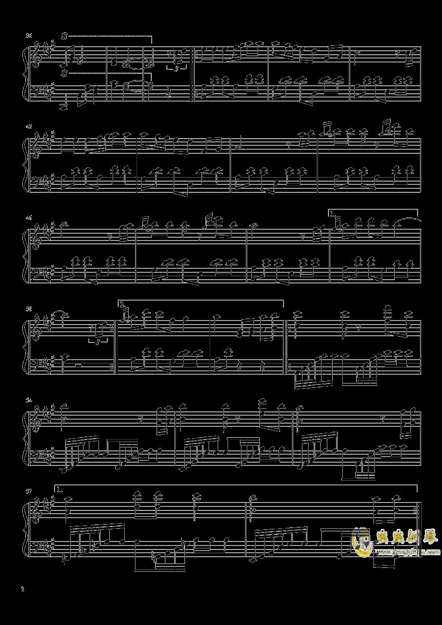 远方之旅钢琴谱 第2页