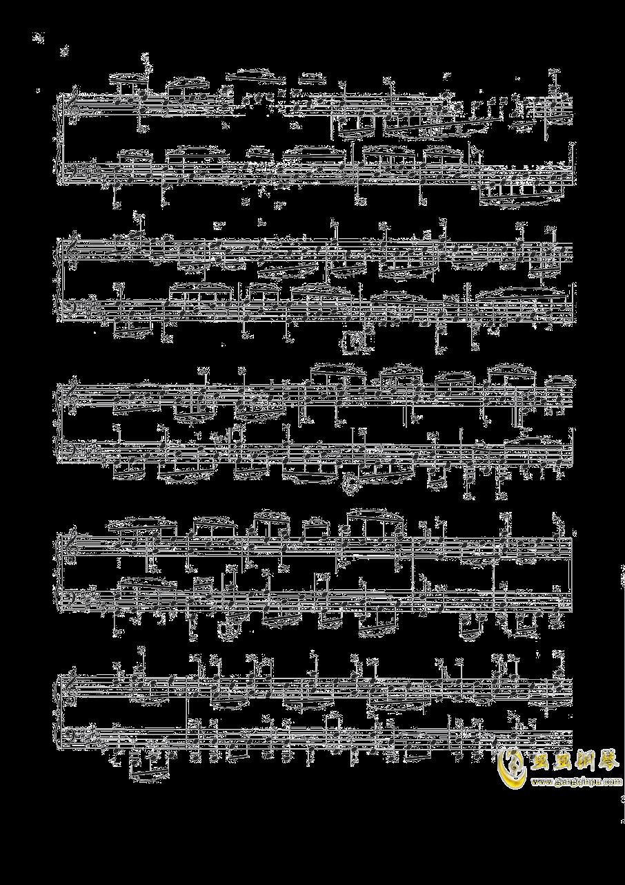 钢琴练习曲NO.1钢琴谱 第3页