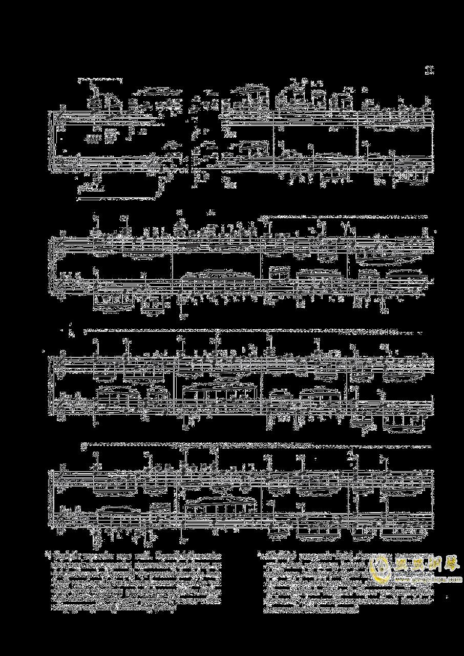 钢琴练习曲NO.1钢琴谱 第6页
