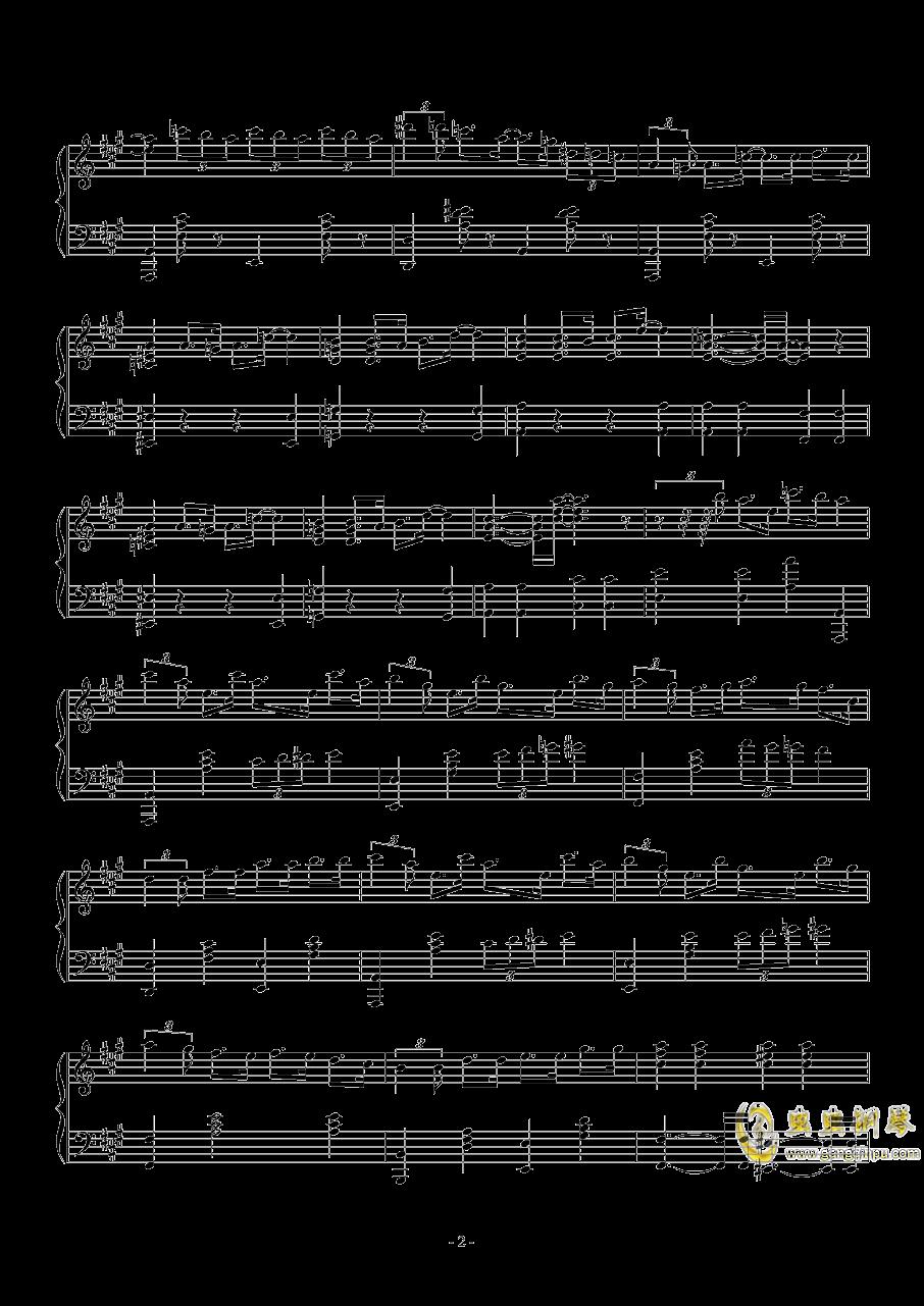lovely day钢琴谱 第2页