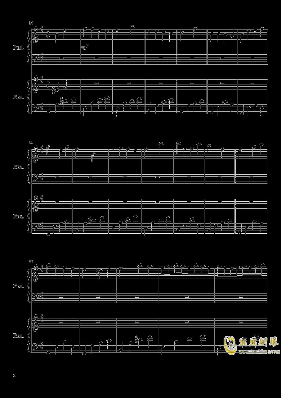 魔鬼的诱惑钢琴谱 第2页
