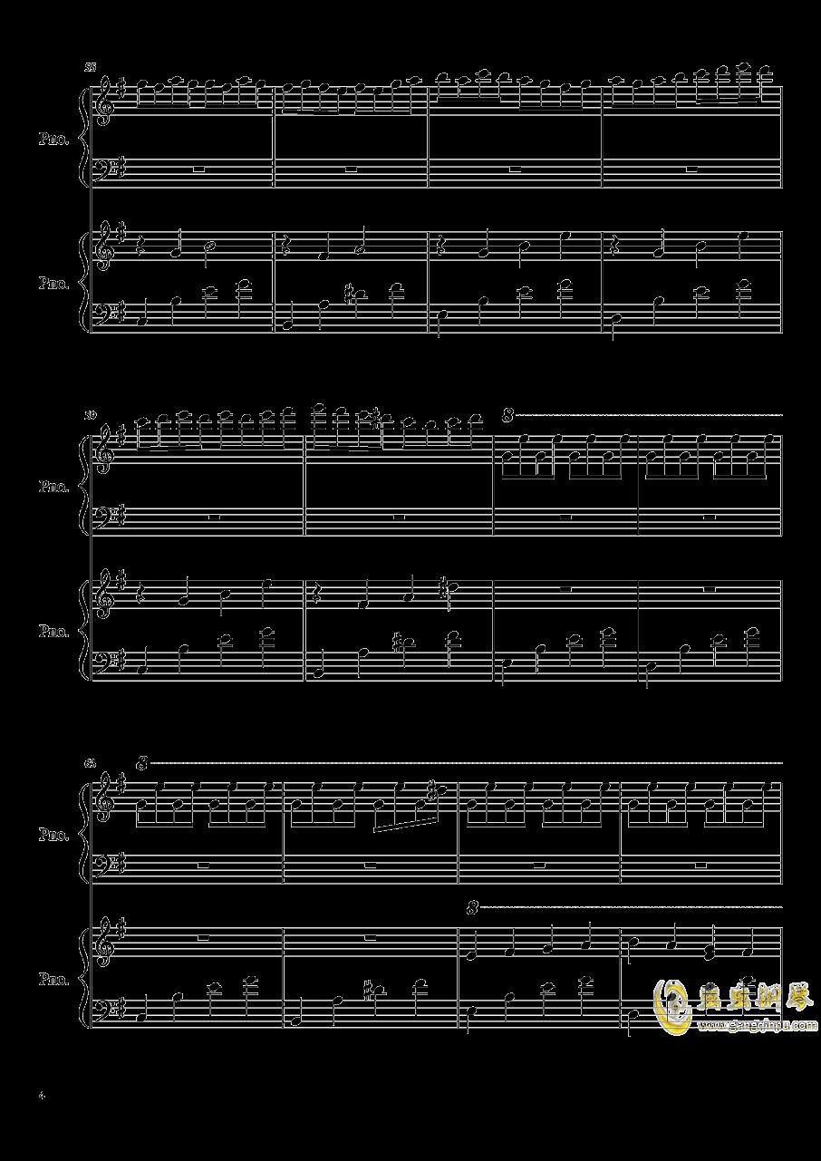 魔鬼的诱惑钢琴谱 第4页