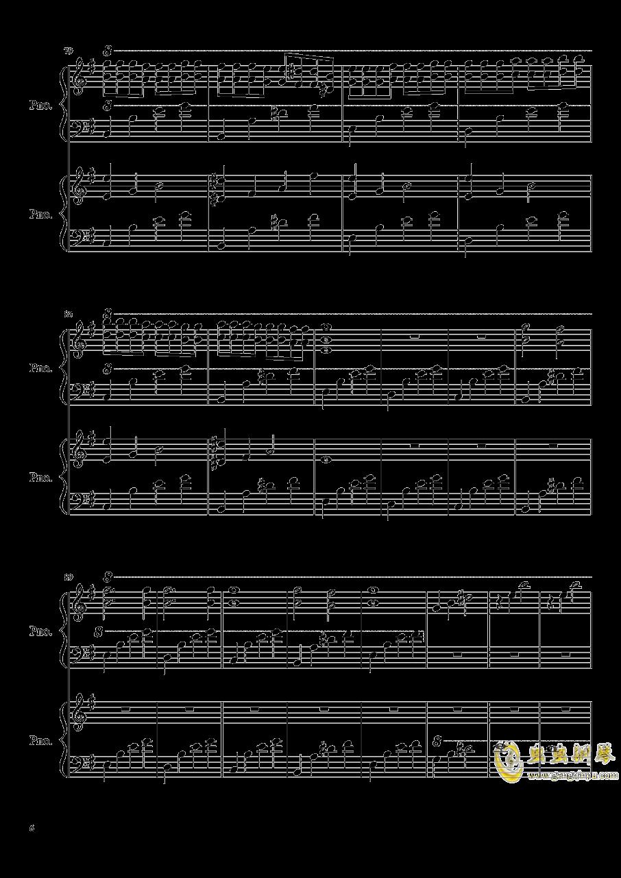 魔鬼的诱惑钢琴谱 第6页