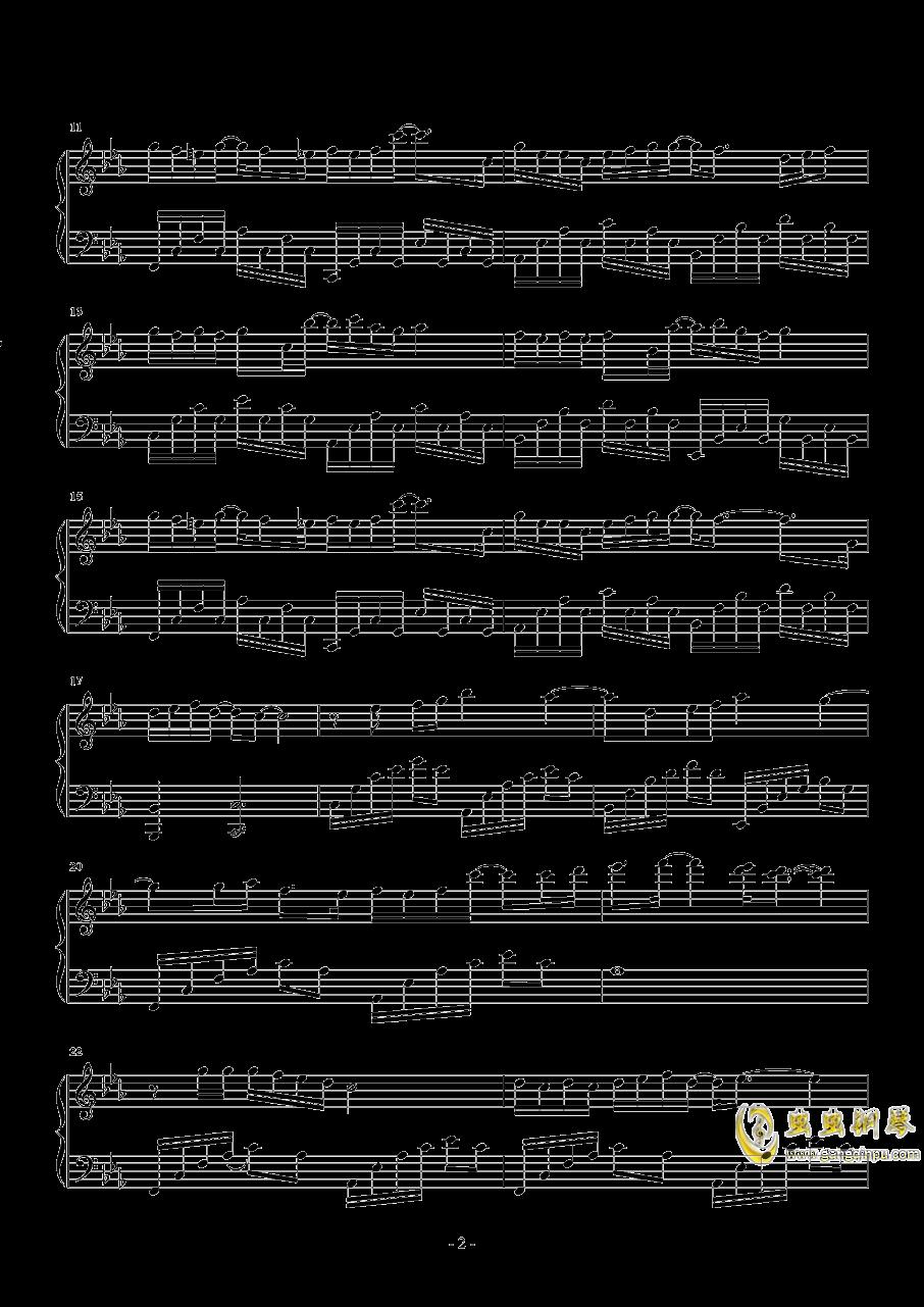 讲真的钢琴谱 第2页