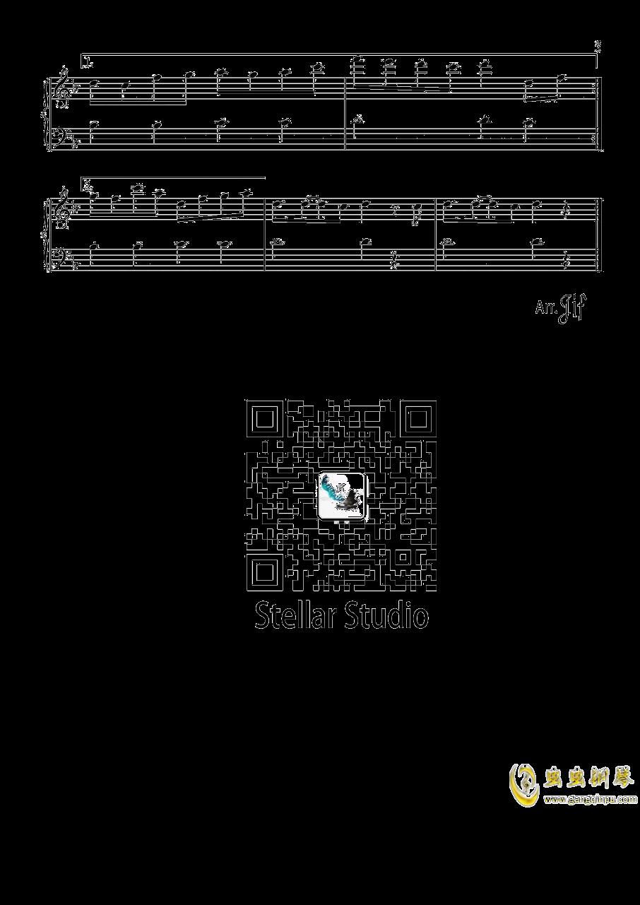 千本樱钢琴谱 第3页