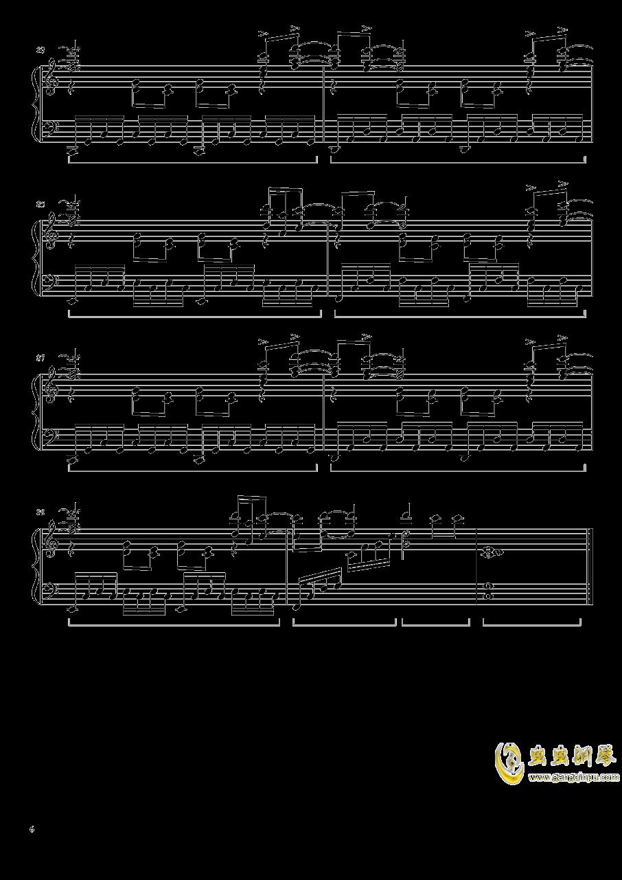 灰色钢琴谱 第6页