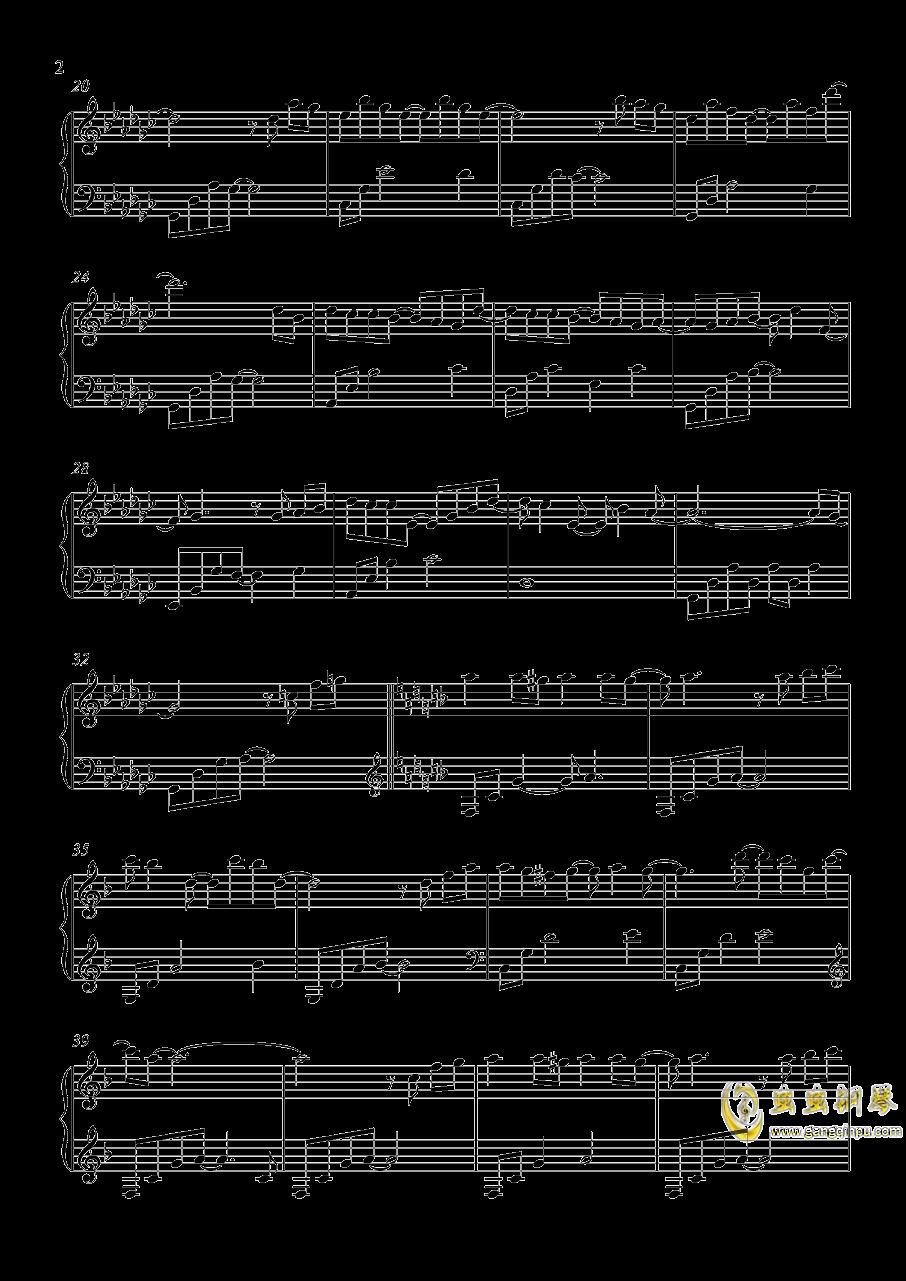 阳光…风…还有你钢琴谱 第2页