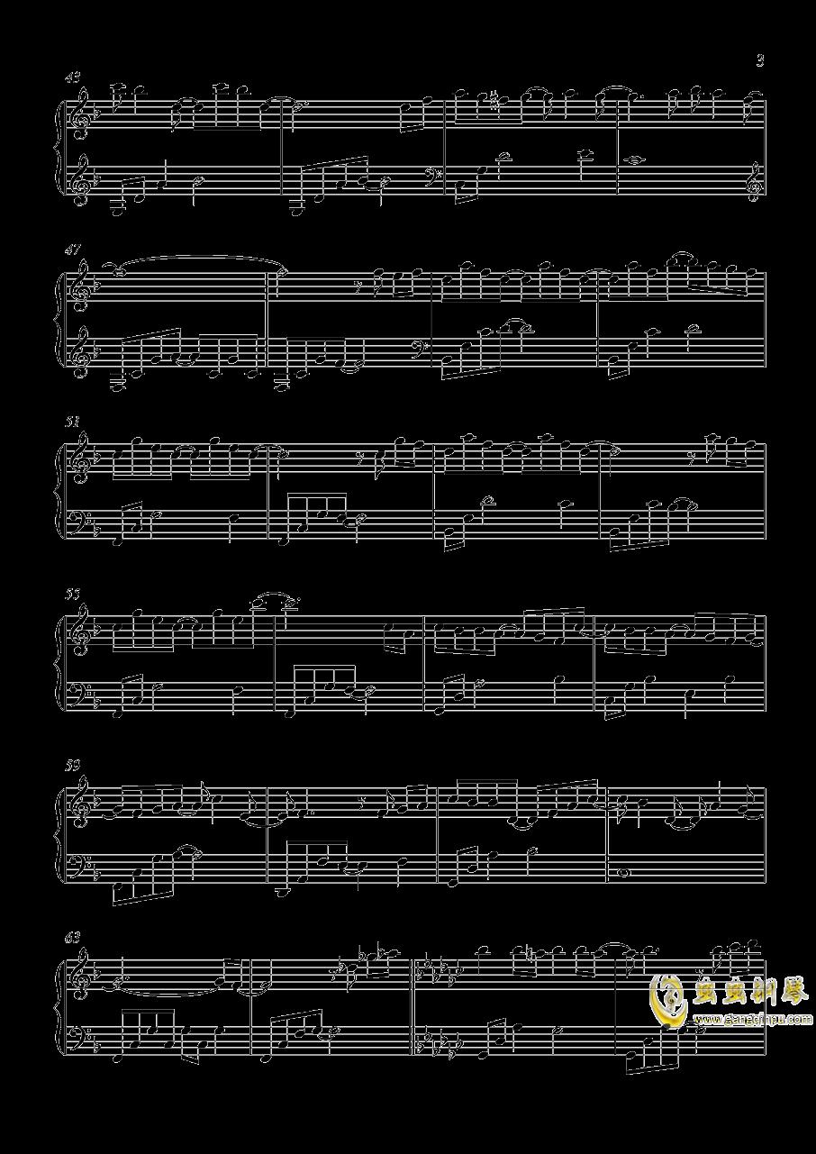 阳光…风…还有你钢琴谱 第3页