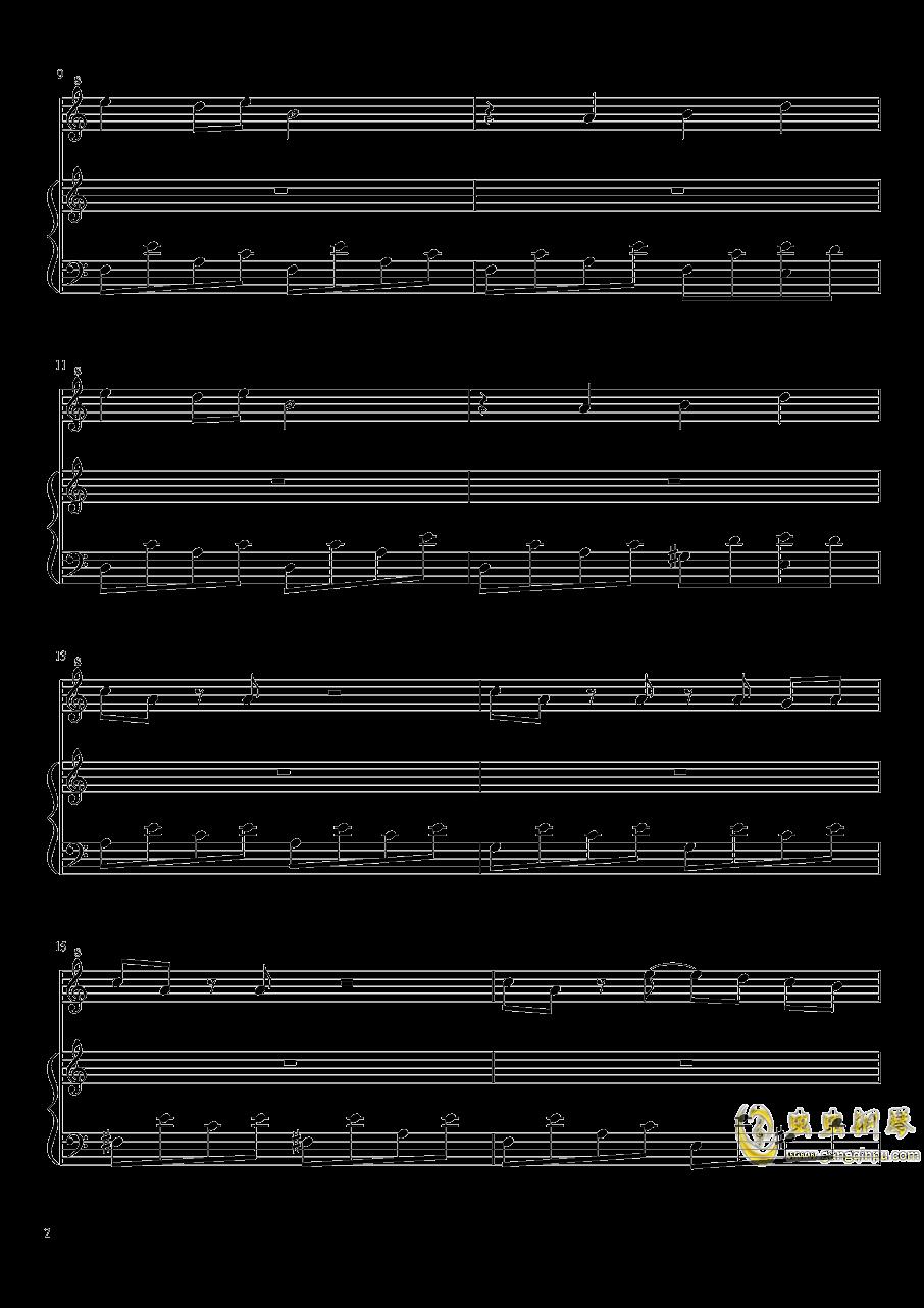 七日死主题曲钢琴谱 第2页