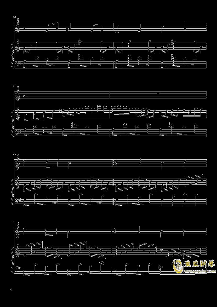 七日死主题曲钢琴谱 第4页