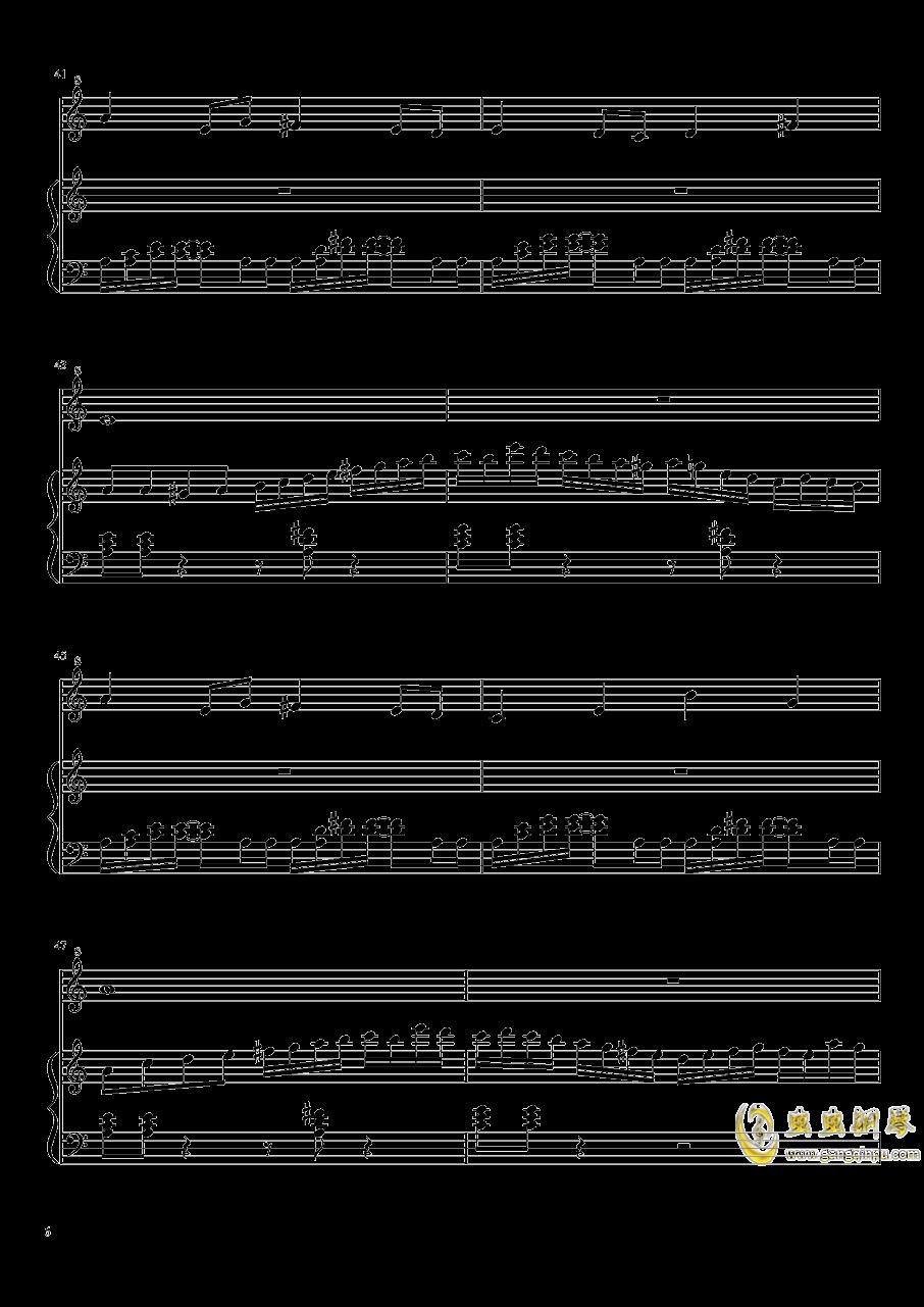 七日死主题曲钢琴谱 第6页