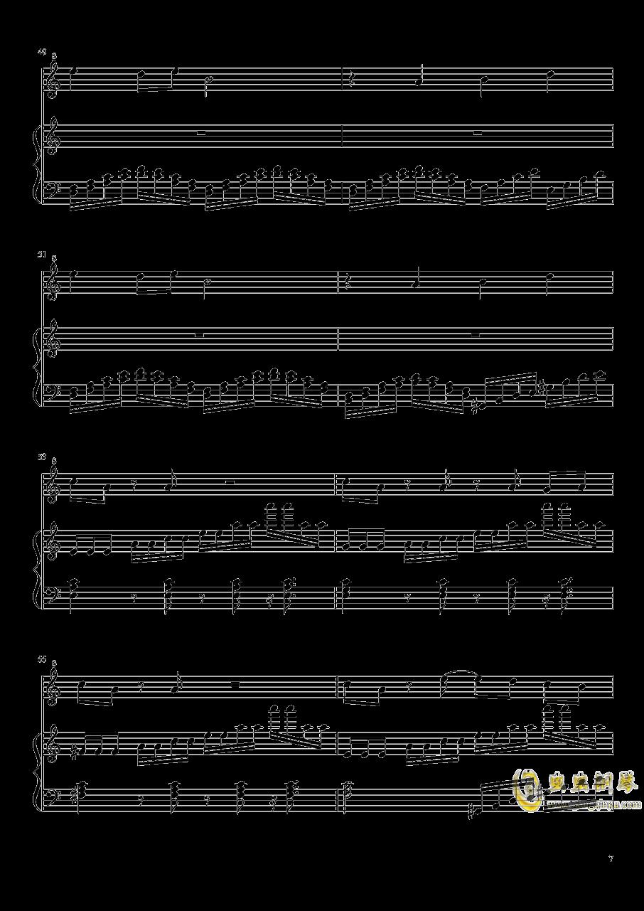 七日死主题曲钢琴谱 第7页
