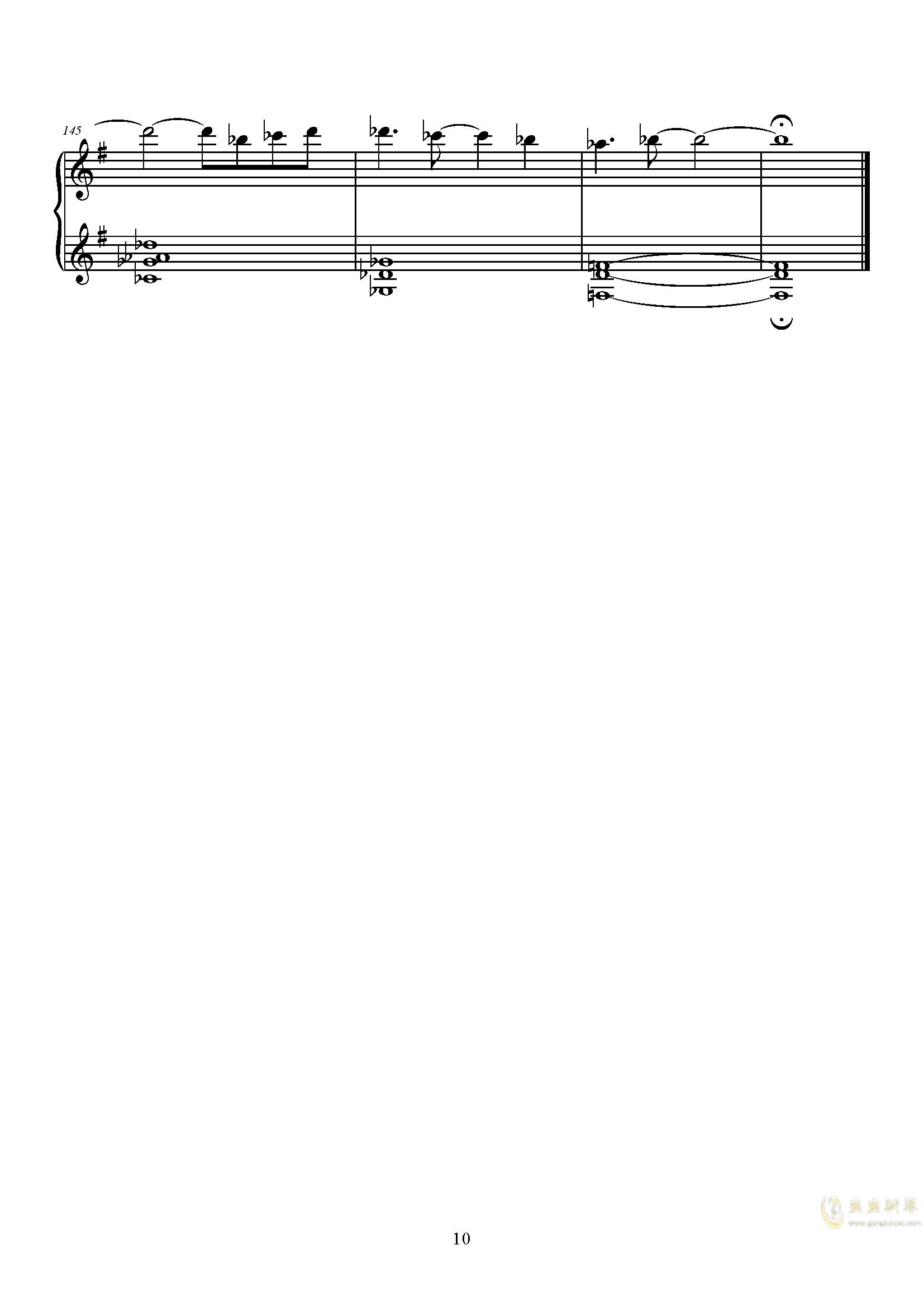 Q - Kiryu 钢琴谱 第10页
