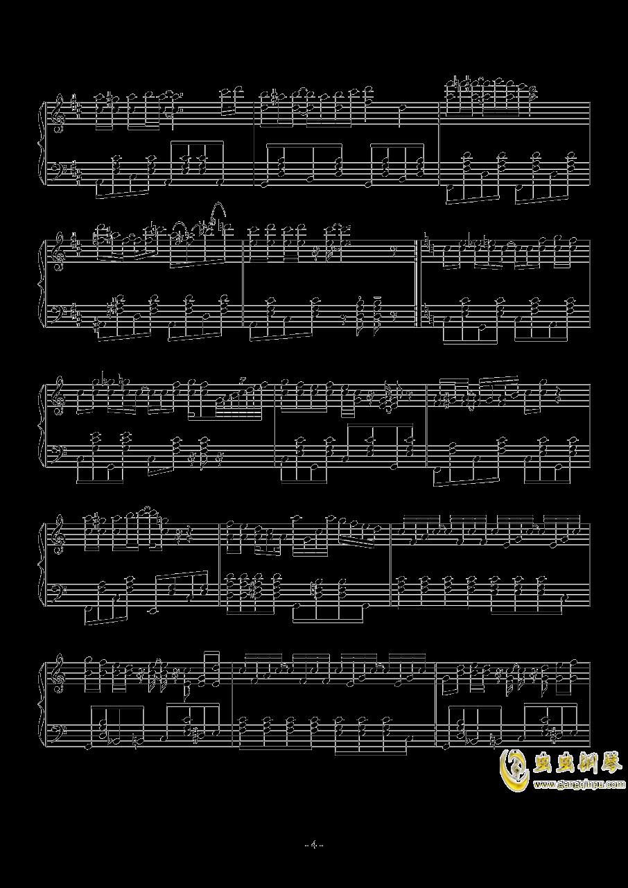spring comes Along钱柜娱乐官网登录同人Masayoshi Minoshima钢琴谱 第4页