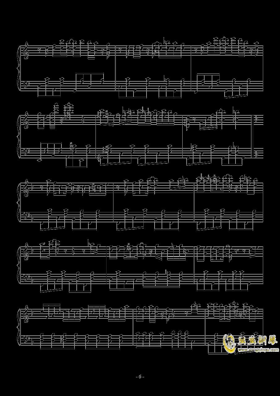 spring comes Along钱柜娱乐官网登录同人Masayoshi Minoshima钢琴谱 第6页