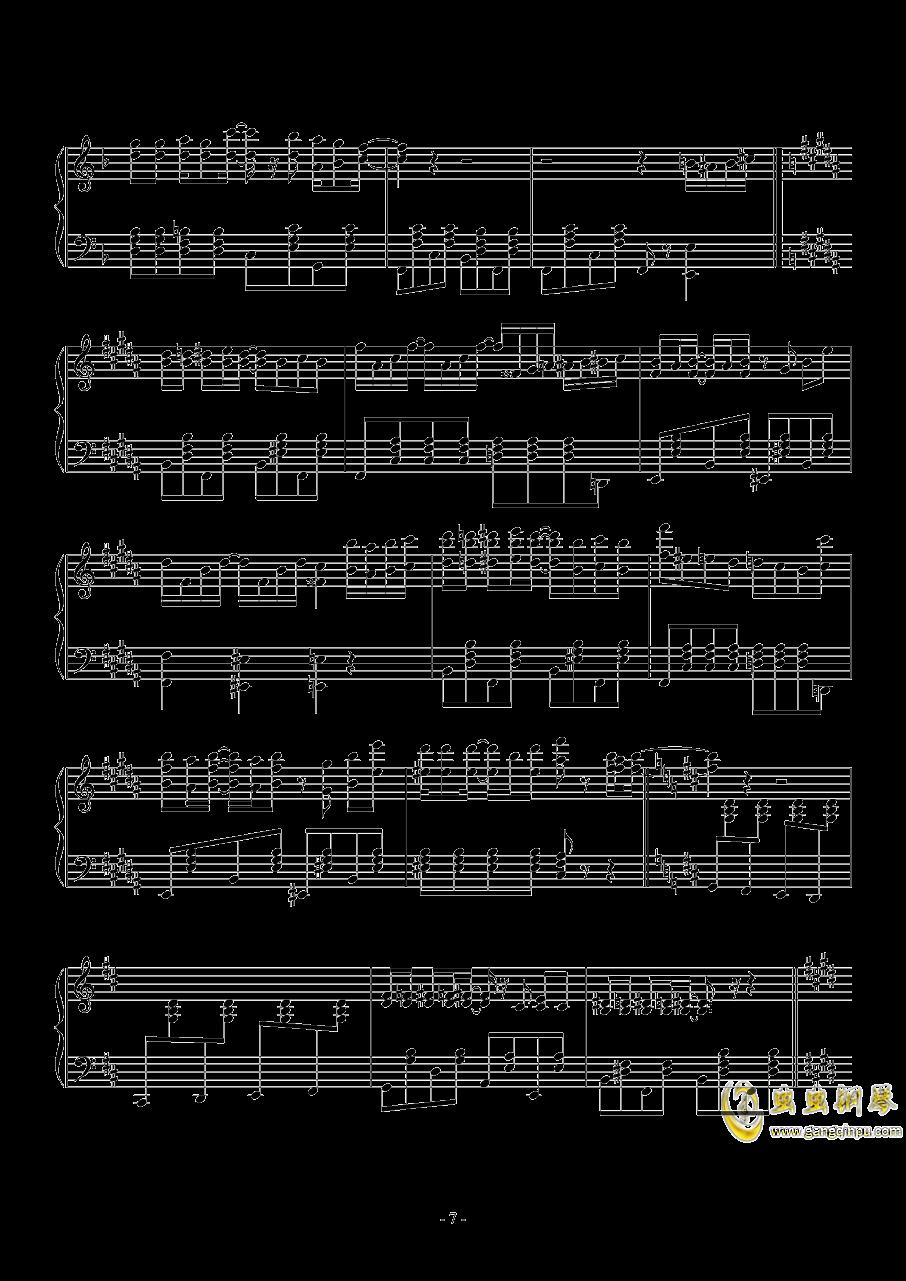 spring comes Along钱柜娱乐官网登录同人Masayoshi Minoshima钢琴谱 第7页