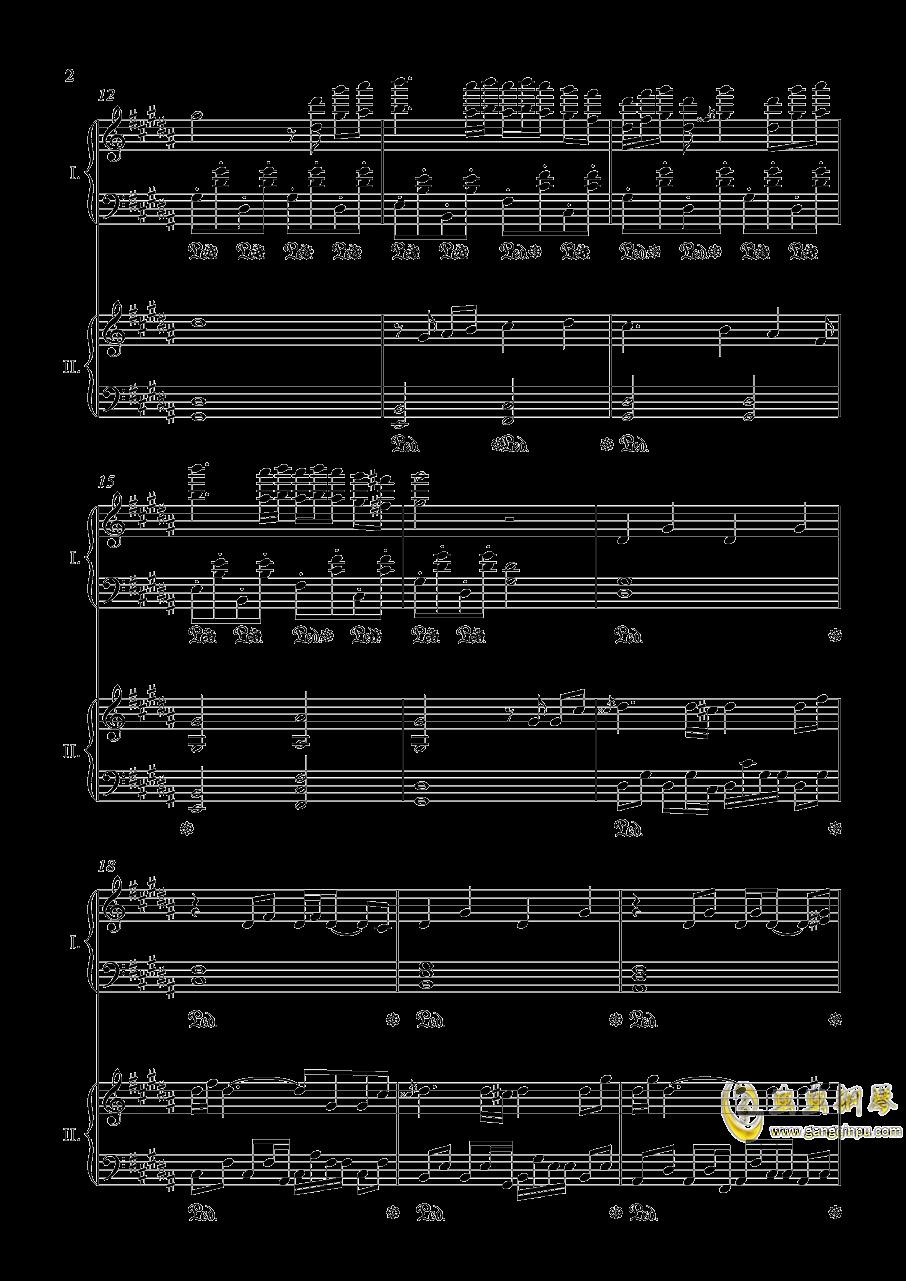 阿加尔塔之风钢琴谱 第2页