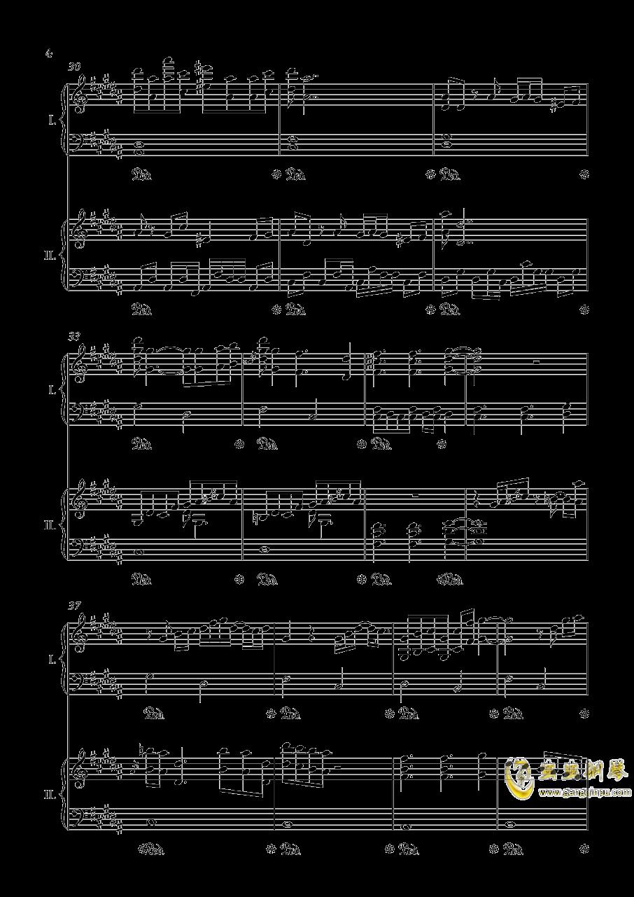 阿加尔塔之风钢琴谱 第4页