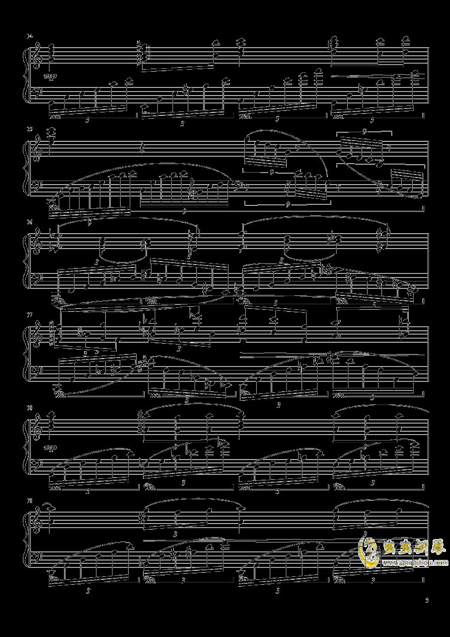 Ballade No.2, Op.93 谱子钢琴谱 第3页
