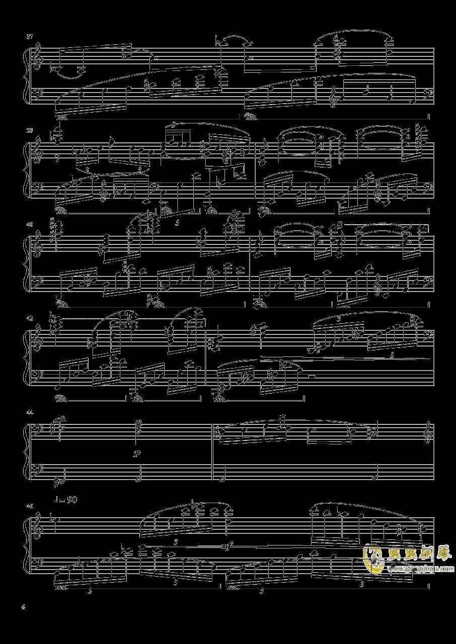 Ballade No.2, Op.93 谱子钢琴谱 第6页