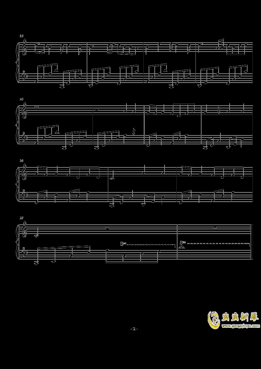 最忆江南钢琴谱 第2页