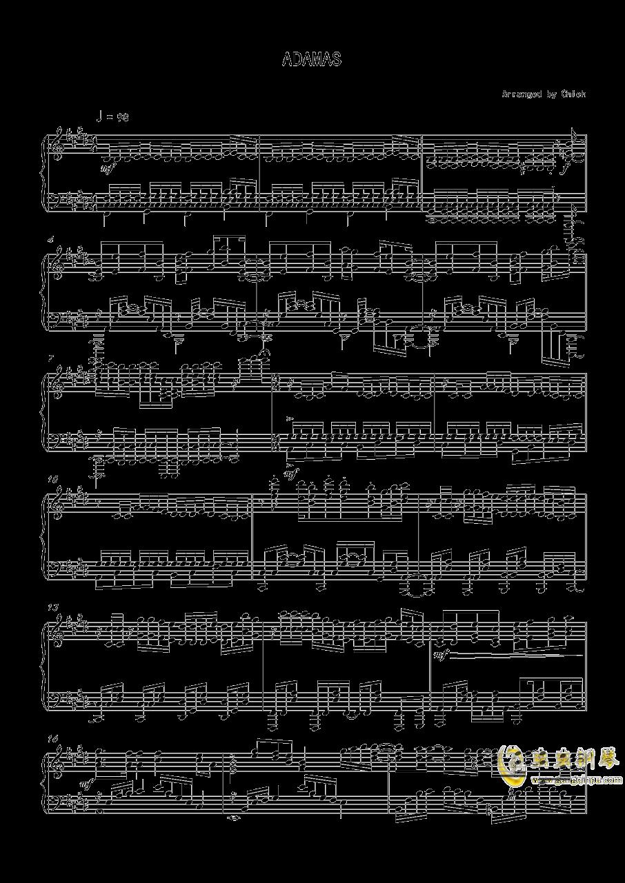 刀剑神域第三季钢琴谱 第1页