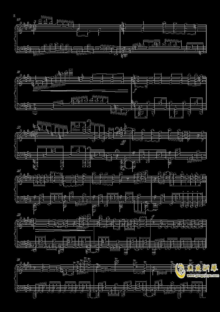 刀剑神域第三季钢琴谱 第2页